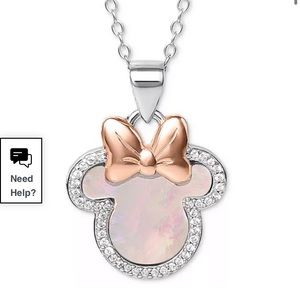 Minnie mother of pearl necklace